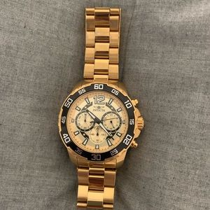 Men's Invicta Gold Watch